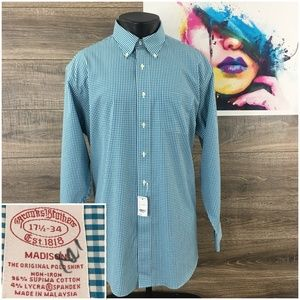 New Brooks Brothers Madison Fit Mens Casual Shirt